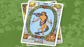 Tarot School – The World – XXI.
