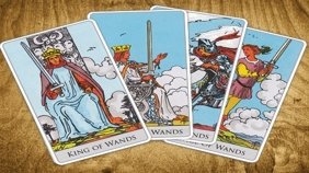 Tarot School – Minor Arcana - Wands III.